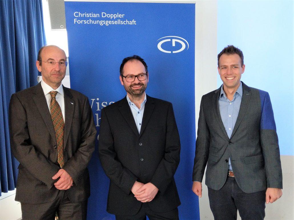 Prof. Axel Jantsch, Michael Kreilmeier, Clemens Reisner
